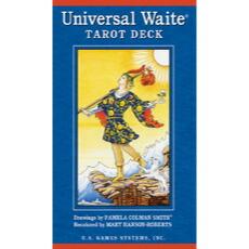 タロットカード ユニバーサル ウェイト タロット デック 鮮やかなライダー版 Universal Waite Tarot Deck ウェイト スミス