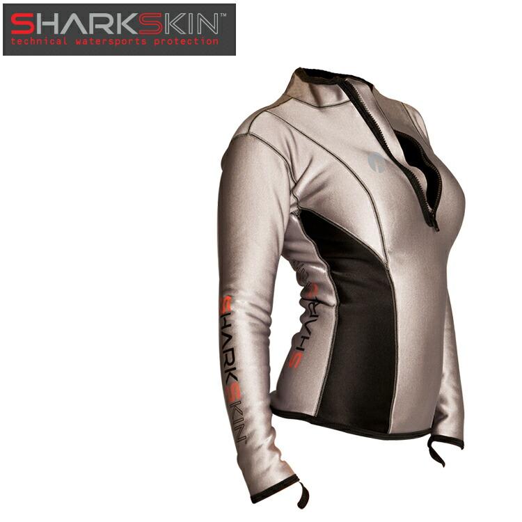 [ SHARKSKIN ] シャークスキン チルプルーフ クライメート コントロール ロングスリーブ ウィメンズ 防寒 ダイビング 防寒インナー