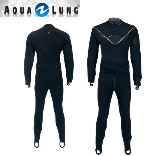 [ AQUALUNG ] アクアラング サーマルフュージョンインナースーツ 防寒 インナー