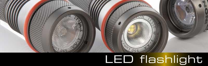 【INON】水中ライト LF1300-EWf ダイビング用LEDライト
