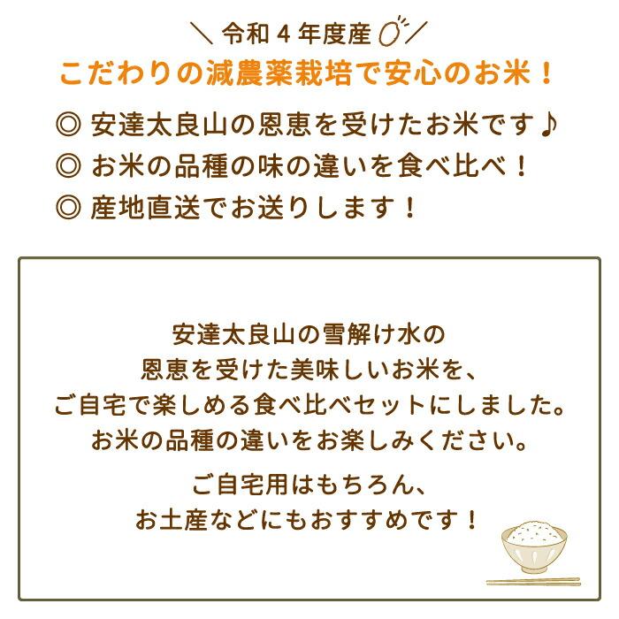 3品種食べ比べセット3kg
