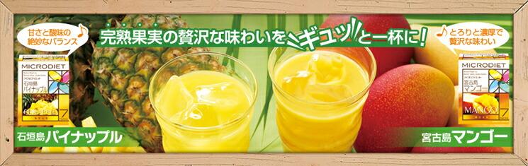 限定生産ミックスパック[宮古島マンゴー&石垣島パイナップル] (14食)
