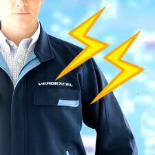 静電気帯電防止ユニフォーム