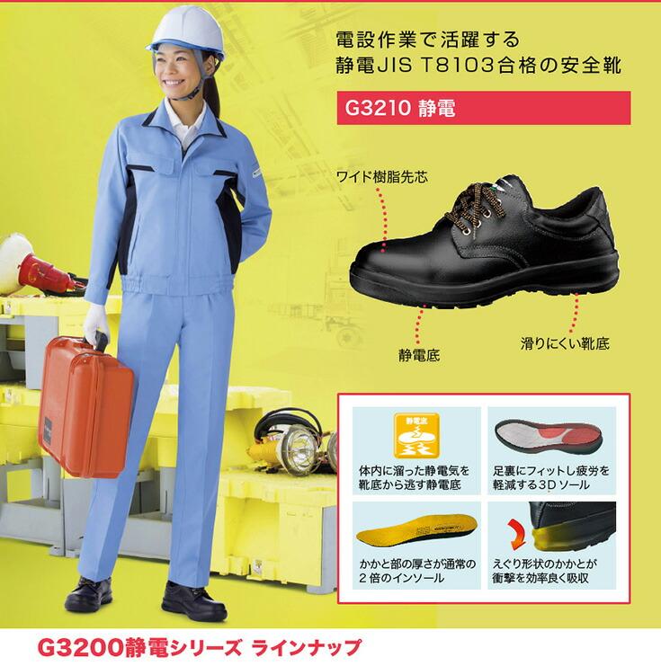 建設業 電設作業向け安全靴