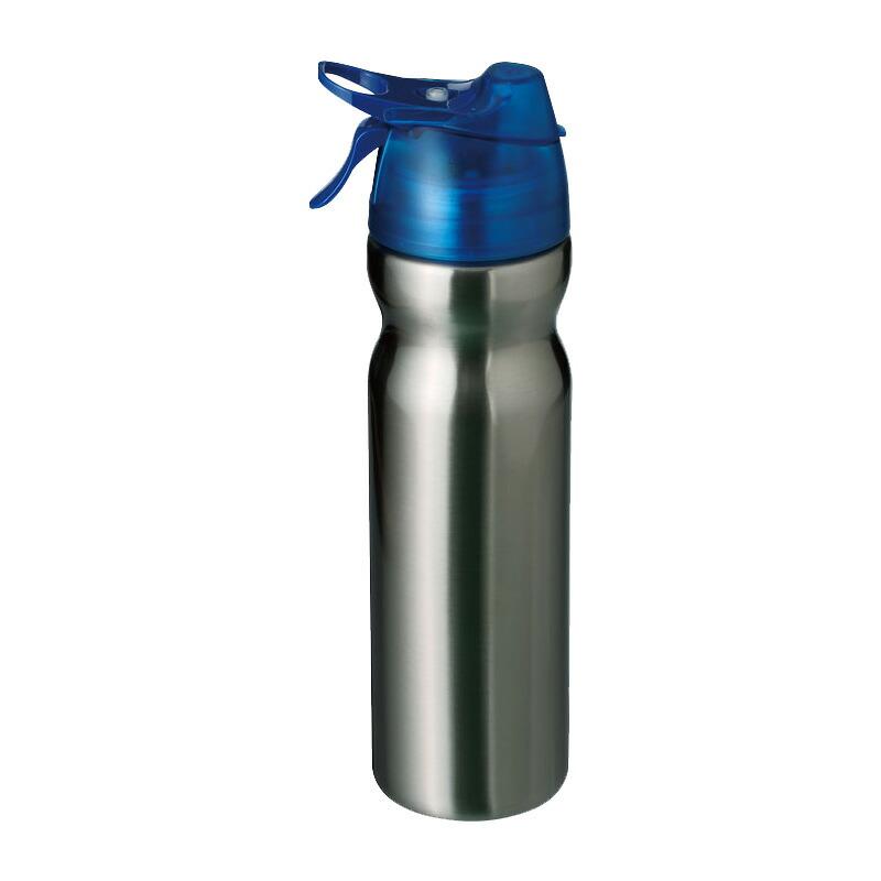 冷却ミスト機能付真空断熱 ドリンクボトル HO-474 飲物たっぷり560ml+ミスト噴霧100回可能