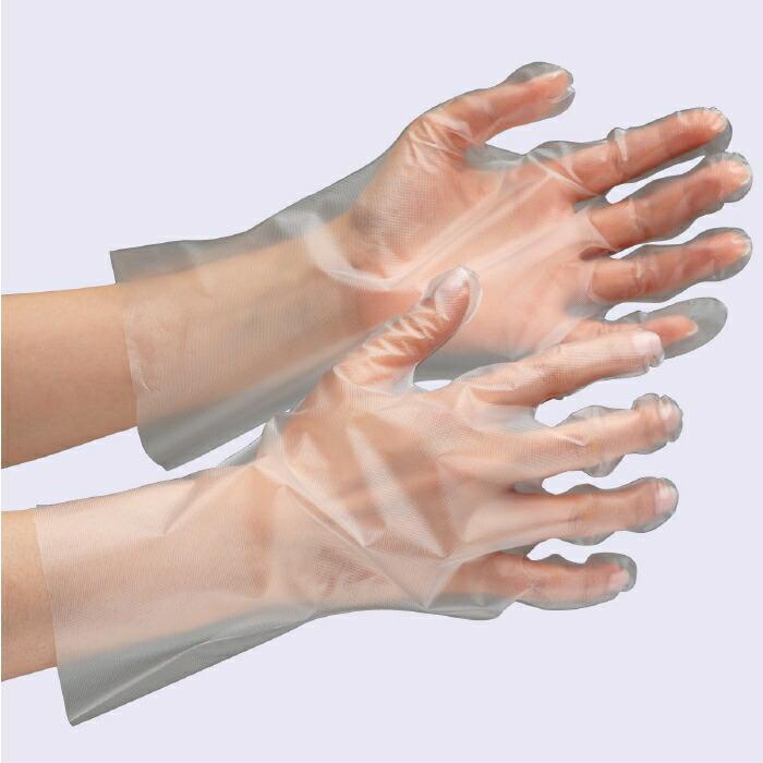 6,000枚 (200枚×30箱) 収納性に便利な箱入りタイプ ベルテ571 ポリエチレン手袋 外エンボス加工 [食品業界向け] クリア
