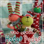 カラフルでキュートなぬいぐるみ♪ホッヂポッヂ Hodge Podge