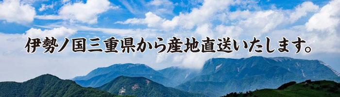 伊勢ノ国三重県から産地直送いたします