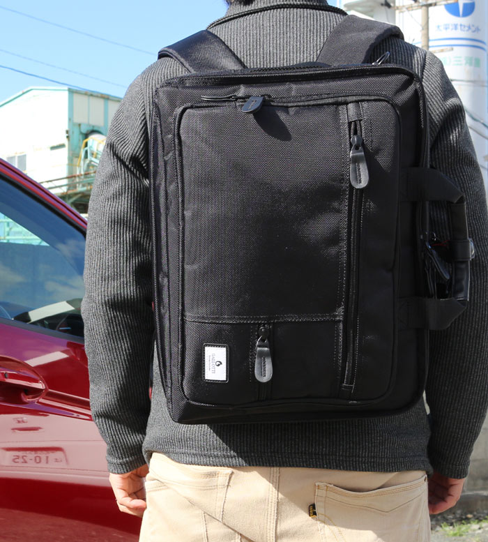 ビジネスバッグ 鞄 カバン かばん バッグ バック ばっく3WAY マチ拡張式 PC対応 パソコン対応 ウレタン入り ショルダーバッグ リュック 男性 通勤用 営業用 出張用 高機能 多機能 人気 おすすめ オススメ お勧め 使い易い