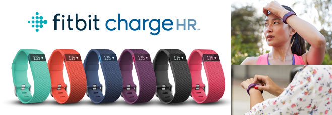 fitbit chargeHR 生活のリズムを感じよう。