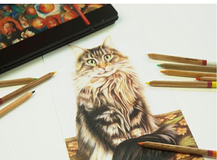 油性色鉛筆72色