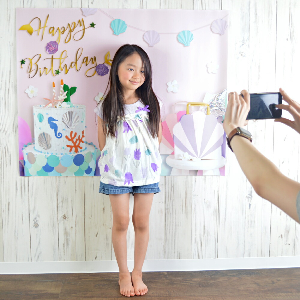 誕生日 スクリーン 子供写真  雑貨 春物 春夏