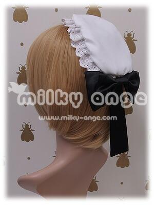メイド服向け小物 メイドキャップ01