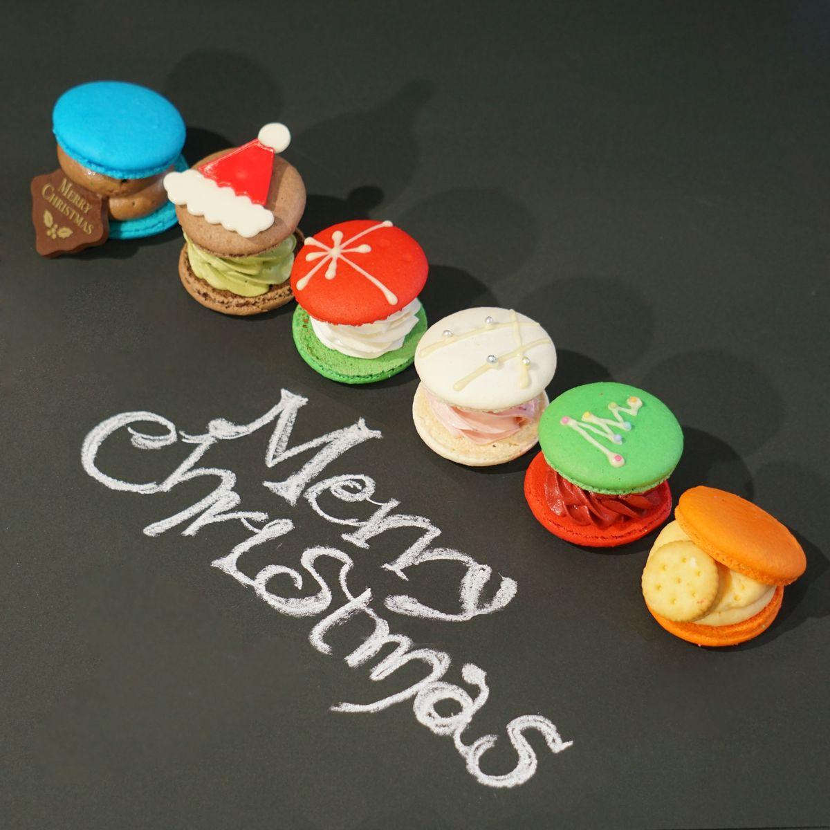 お取り寄せ(楽天) トゥンカロン 韓国マカロン スイーツ 6個入 クリスマス 価格4,280円 (税込)