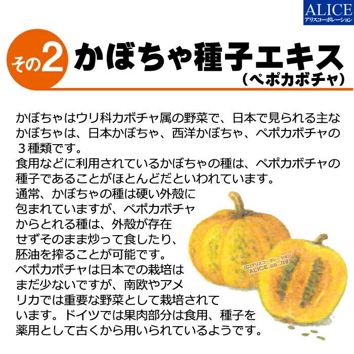 かぼちゃ種子 カボチャ種子 エキス ペポカボチャ