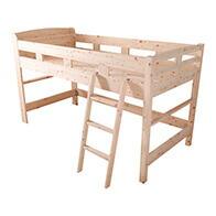 日本製ひのきロフトベッド