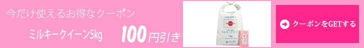 クーポン100円引き