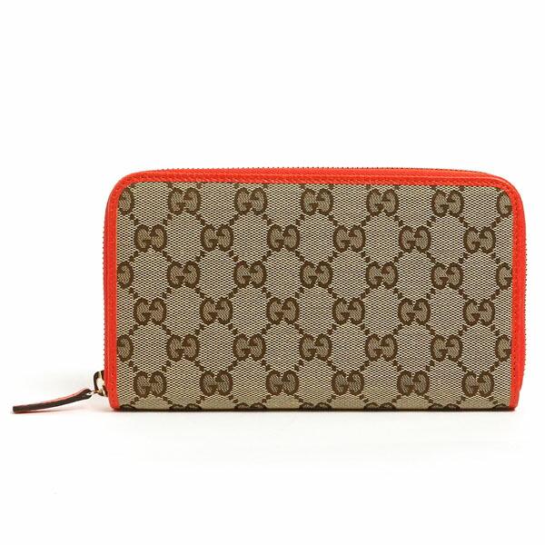 0a60289e698c GUCCIから定番GG柄のキャンバスと上質なレザーを使用したラウンドファスナー長財布の入荷です。  飽きにくいシンプルなデザインで、年齢問わず末長くお使い頂けます。