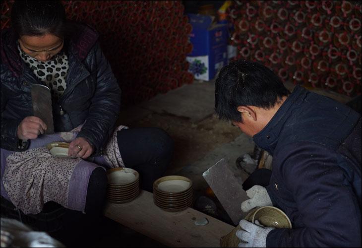 中国雷山県の焼き物