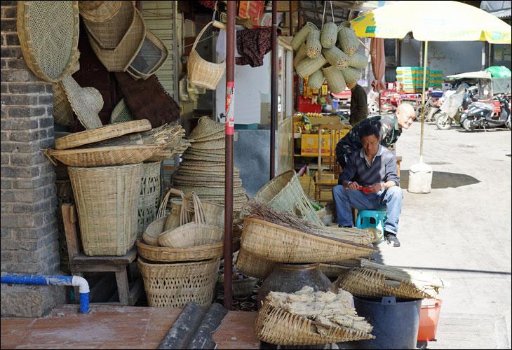 雲南の竹細工