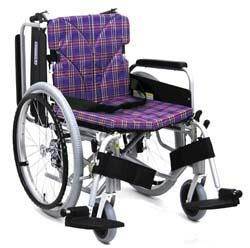 自走用脚部スウィングイン・アウト車椅子カワムラサイクルKA820-40B-M(LO.SL)