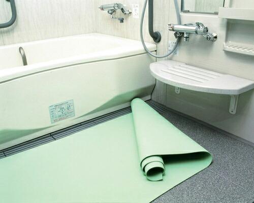 弘進ゴム株式会社浴室用マット・オーバルリンク(L2:100cm×200cm)