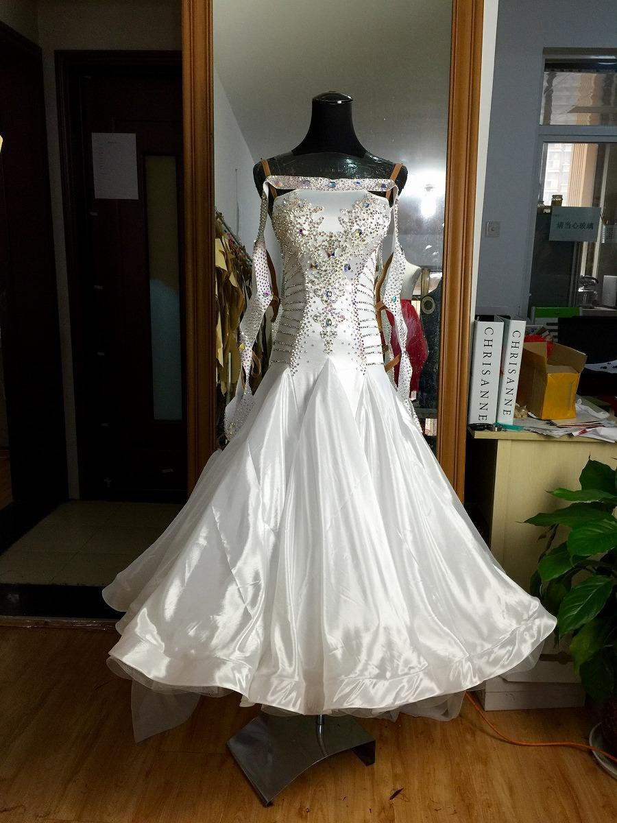 179cc03b97b62 社交ダンス ダンス衣装 パーティドレス セレブ 高級ドレス パーティ 競技ダンスドレス