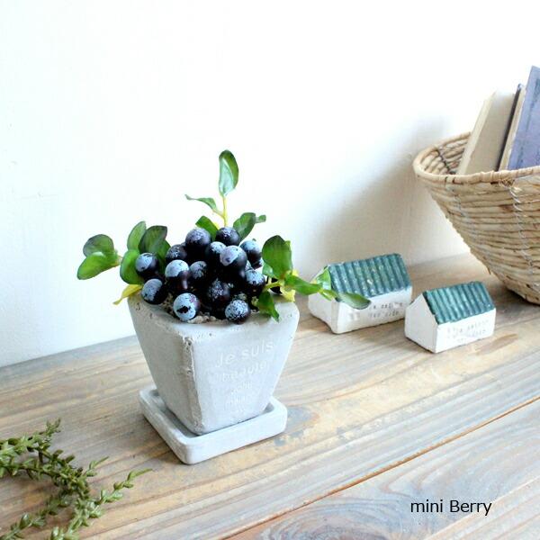 mintcafe(ミントカフェ)『ミニベリーポット フェイクグリーン』