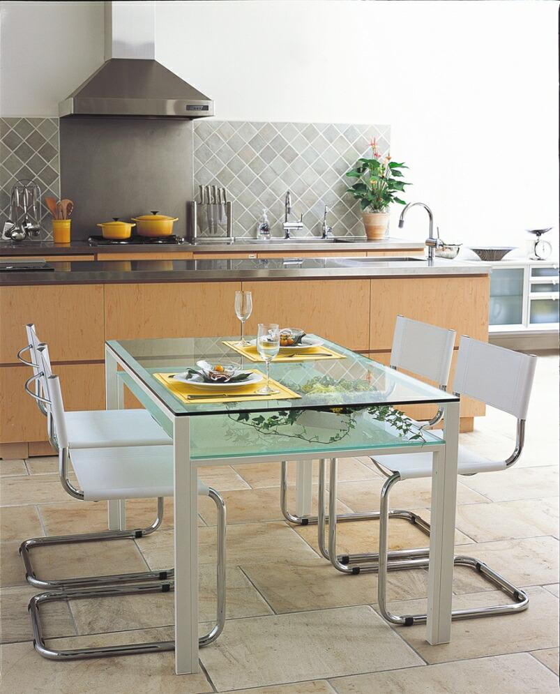 mirage  rakuten global market glass dining table xmm . glass dining table xmm  white frame and frosted glass top and frostedglass shelves