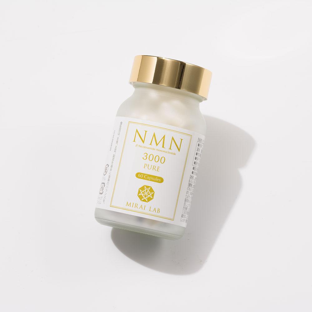 NMNピュア3000 (60カプセル) NMN高含有配合サプリメント