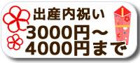出産内祝い3000円〜4000円まで