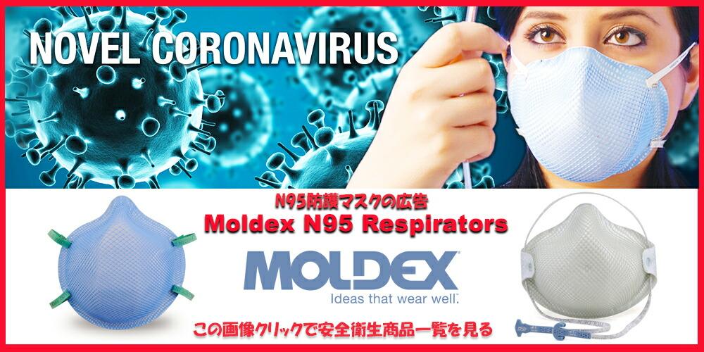Moldex N95防護マスク