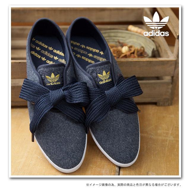 adidas スニーカー リボン