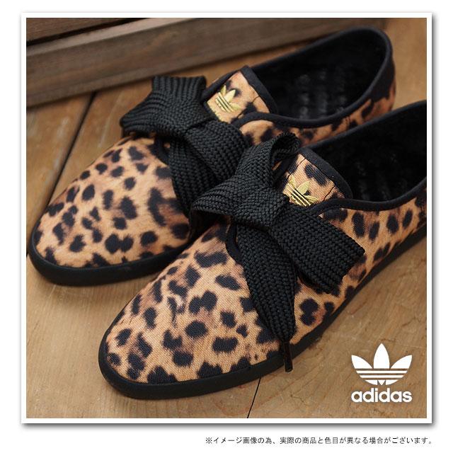 adidas スニーカー ヒョウ柄