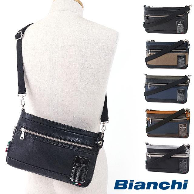 44abb383d854 楽天市場】【即納】Bianchi ビアンキ メンズバッグ ミニショルダーバッグ ...