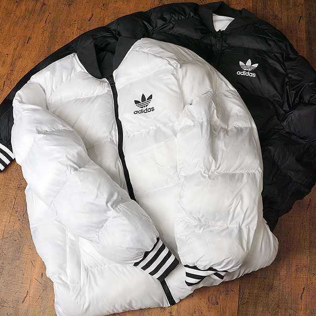 adidas Adidas originals apparel men SST REVERSIBLE DOWN JACKET superstar reversible down jacket Adidas originals adidas Originals (BR4791 BR4798 FW17)