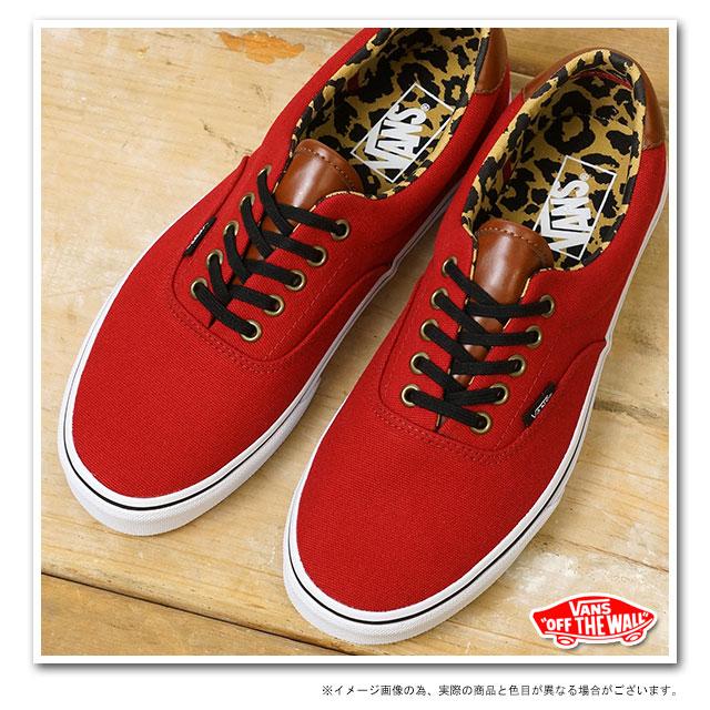vans era 59 red leopard print  6cc92c96be85