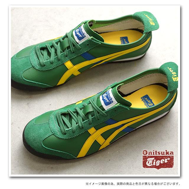 quality design 47c14 6edc3 Onitsuka Tiger Onitsuka tiger sneakers MEXICO 66 Mexico 66 Amazon green /  yellow (THL7C2-8504 SS14) OnitsukaTiger Onitsuka tiger