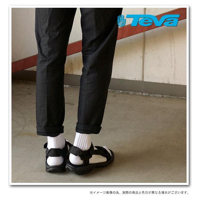 Black Teva Terra Fi Lite Mens Sandals