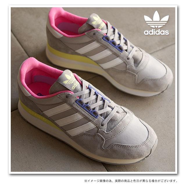 adidas スニーカー レディース グレー