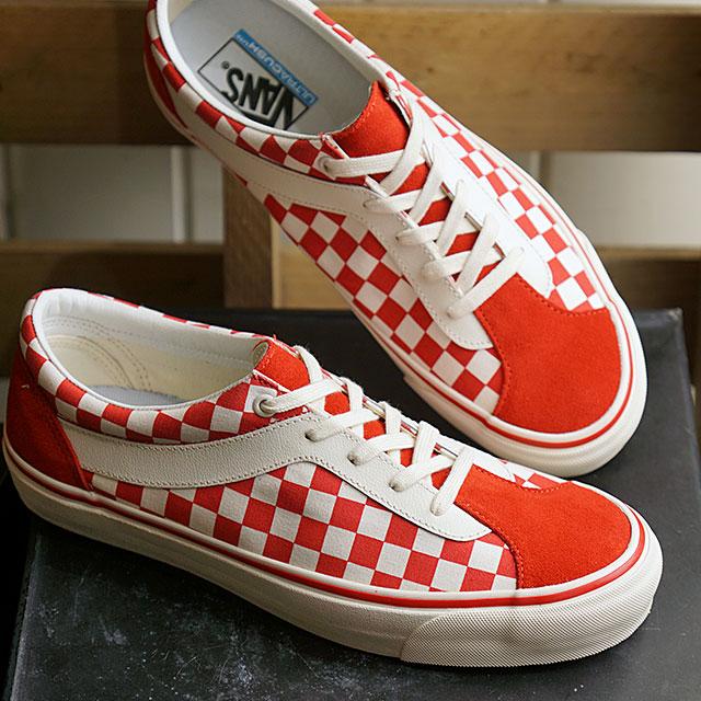 ヴァンズ スニーカー Bold Ni Checkerboard Sneaker Red
