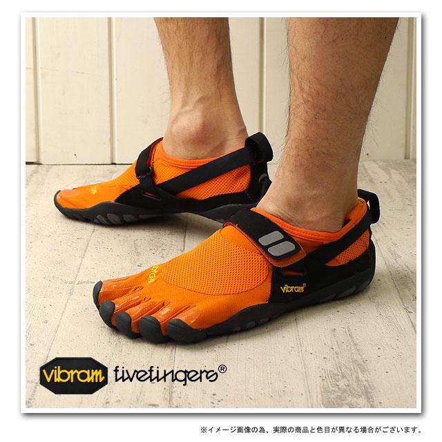 low priced 70cbc e572f vibram fivefingers treksport orange