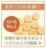 美噌汁最中 マゴコロ入9個