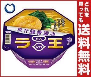 【送料無料】 日清食品 日清 ラ王 魚介豚骨醤油 120g×12個入 ※北海道・沖縄・離島は別途送料が必要。