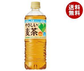 【送料無料】 サントリー GREEN DAKARA(グリーン ダカラ) やさしい麦茶【手売り用】 650mlペットボトル×24本入 ※北海道・沖縄・離島は別途送料が必要。