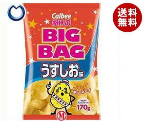 【送料無料】 カルビー BIG BAG ポテトチップス うすしお味 170g×12個入 ※北海道・沖縄・離島は別途送料が必要。