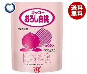 【送料無料】 キッコーマン キッコー おろし白桃 500gパウチ×12袋入 ※北海道・沖縄・離島は別途送料が必要。