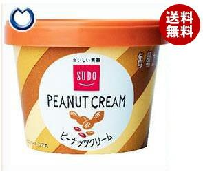 【送料無料】 スドージャム スドー 毎朝カップ ピーナッツクリーム 135g×12個入 ※北海道・沖縄・離島は別途送料が必要。
