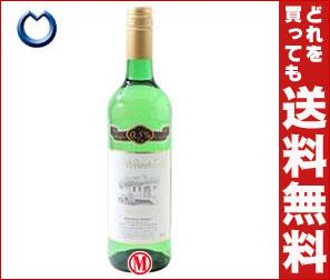 【送料無料】【2ケースセット】 ユウキ食品 微量アルコールワイン(白) 750ml瓶×6本入×(2ケース)