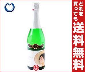 【送料無料】【2ケースセット】 ユウキ食品 微量アルコールワイン スパークリング 750ml瓶×6本入×(2ケース)